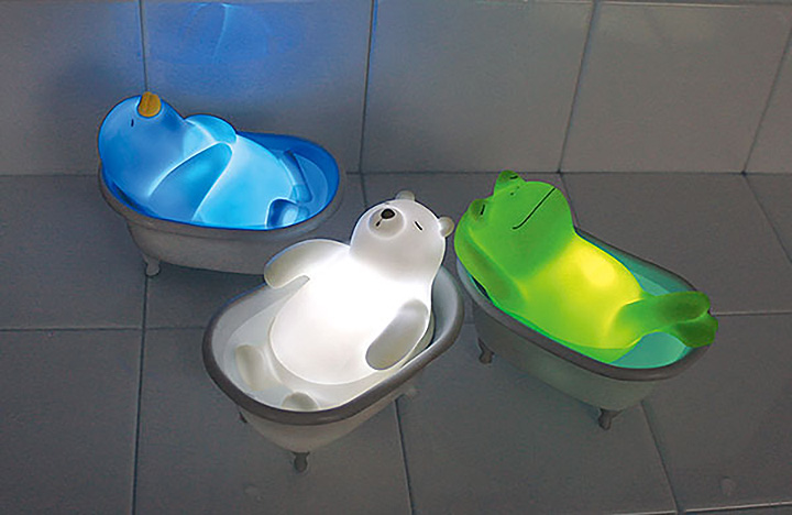 Relax Animal Bath Light